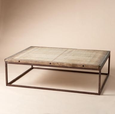 Brickmakers Coffee Table traditional coffee tables