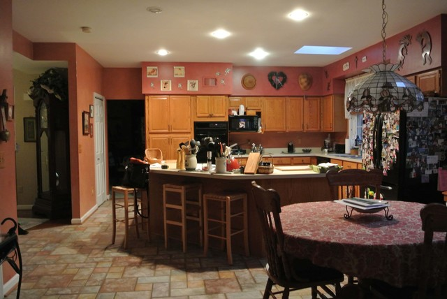 Trading Up to a Gourmet KItchen traditional