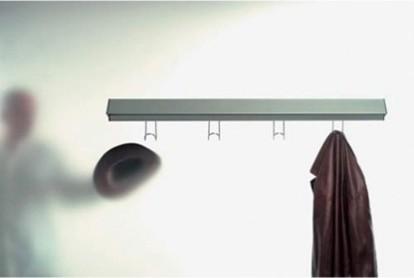 Metric sconce with hooks modern-lighting