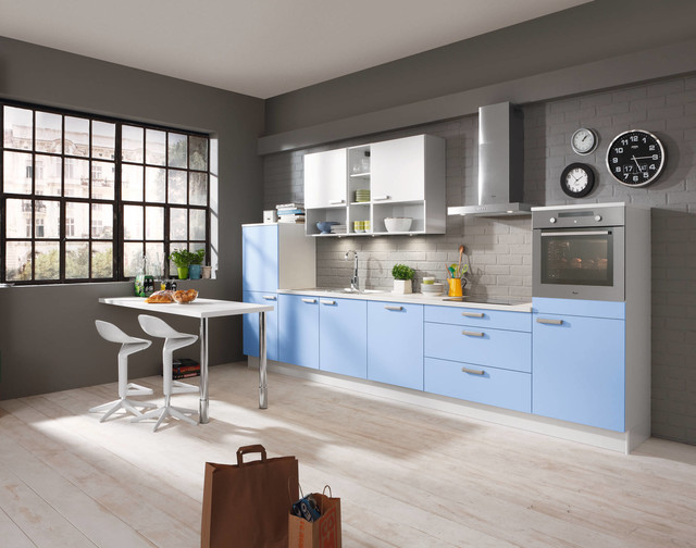 alno kitchens shades of blue contemporary kitchen cabinetry new york by alno usa. Black Bedroom Furniture Sets. Home Design Ideas