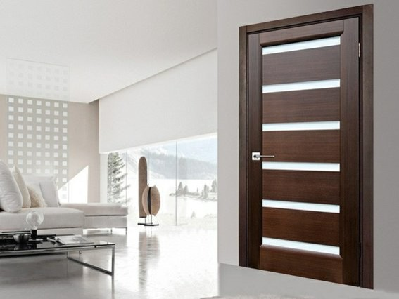 Flush door modern living room other metro by for Unique interior door ideas