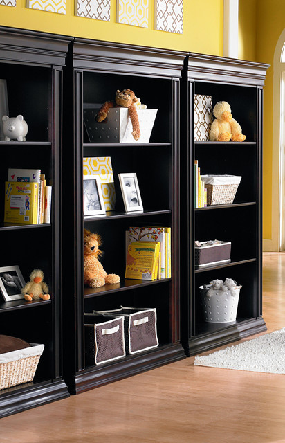 Legendary Bookcases Combined traditional-bookcases