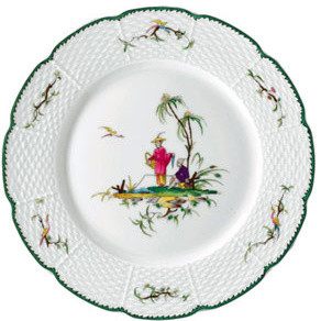 Si Kiang Porcelain Dinnerware traditional-dinnerware