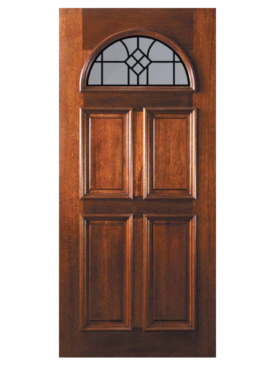 "Slab Single Door 80 Wood Mahogany Cantania GBG Fan Lite GBG Glass - SKU#    L12662WCABrand    GlassCraftDoor Type    ExteriorManufacturer Collection    Fan Lite Entry DoorsDoor Model    Cantania GBGDoor Material    WoodWoodgrain    MahoganyVeneer    Price    975Door Size Options    36"" x 80"" (3'-0"" x 6'-8"")  $0Core Type    Door Style    Door Lite Style    Fan LiteDoor Panel Style    4 PanelHome Style Matching    Door Construction    LegacyPrehanging Options    SlabPrehung Configuration    Single DoorDoor Thickness (Inches)    1.75Glass Thickness (Inches)    Glass Type    Double GlazedGlass Caming    Glass Features    TemperedGlass Style    Glass Texture    Clear , RainGlass Obscurity    No Obscurity , Highest ObscurityDoor Features    Door Approvals    Wind-load Rated , FSC , TCEQ , AMD , NFRC-IG , IRC , NFRC-Safety GlassDoor Finishes    Door Accessories    Weight (lbs)    248Crating Size    25"" (w)x 108"" (l)x 52"" (h)Lead Time    Slab Doors: 7 daysPrehung:14 daysPrefinished, PreHung:21 daysWarranty    One (1) year limited warranty for all unfinished wood doorsOne (1) year limited warranty for all factory?finished wood doors"