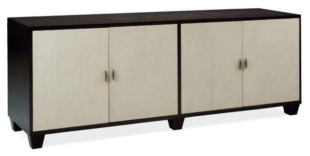 Julian chichester fishscale long cabinet traditional