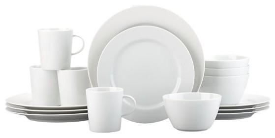 Maison 16-Piece Dinnerware Set contemporary-dinnerware