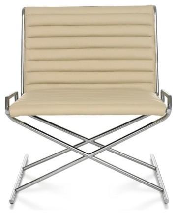Herman Miller   Ward Bennett Sled™ Chair modern-living-room-chairs