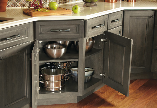 Omega Base Corner Cabinet Kitchen Cabinetry Other Metro By