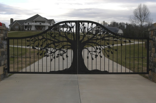Oak Hill Iron Gates traditional exterior