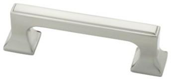 Liberty Hardware P20383-SN-C Southampton 0.74 Inch Handle Pull - Satin Nickel modern-cabinet-and-drawer-handle-pulls