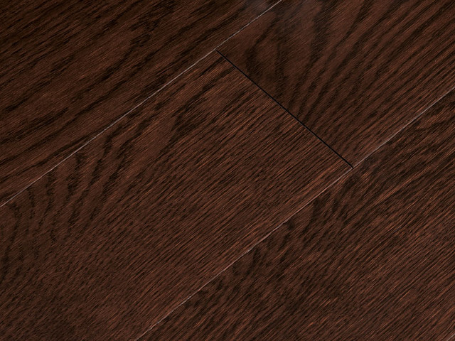 Oak Dark Chocolate traditional wood flooring