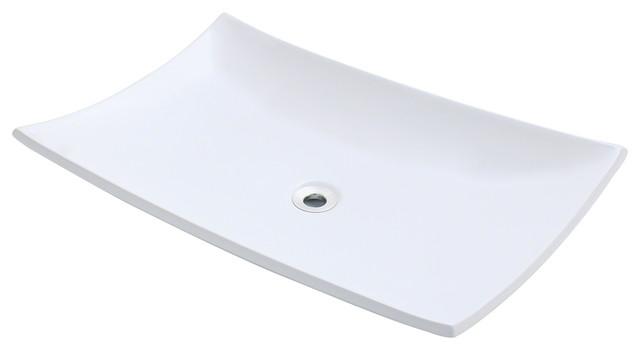 Porcelain Vessel Sink traditional-bathroom-sinks
