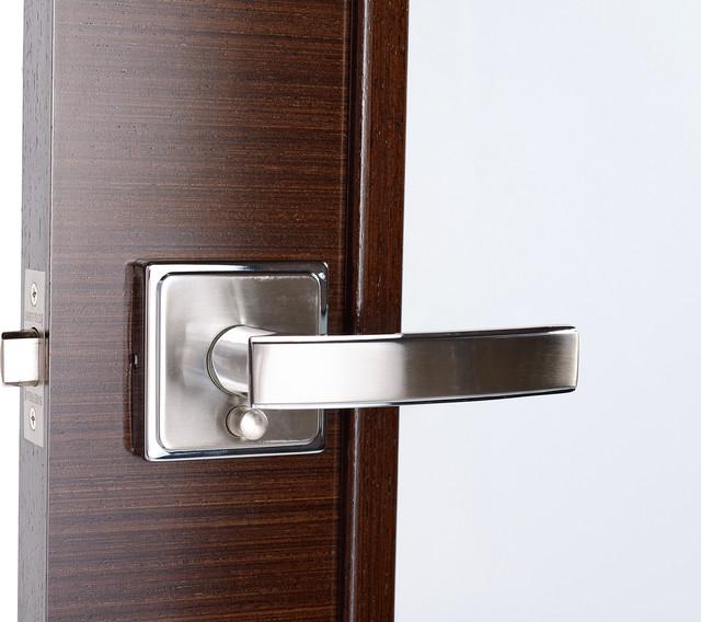 Amorette Door Handle - Contemporary - Door Hardware - new york - by Doors And Beyond