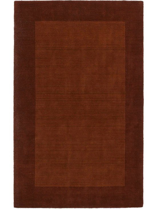 """Kaleen - Kaleen Regency Regency (Copper) 3'6"""" x 5'3"""" Rug - Regency offers an array of fourteen beautifully elegant subtle tones for today's casual lifestyles. Choose from rich timeless hues shaded with evidence of light brush strokes. These 100% virgin wool, hand loomed rugs are sure to add comfort and warmth to any setting. Hand crafted in India."""