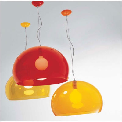 FL/Y Suspension Lamp by Kartell modern pendant lighting