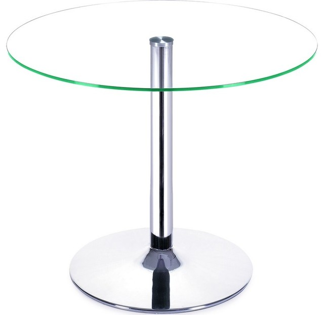 Attractive Glass Top Bistro Tables Cool Gl Table With La Coupole