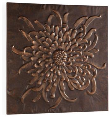 Chrysanthemum Wall Art Hanging traditional-artwork