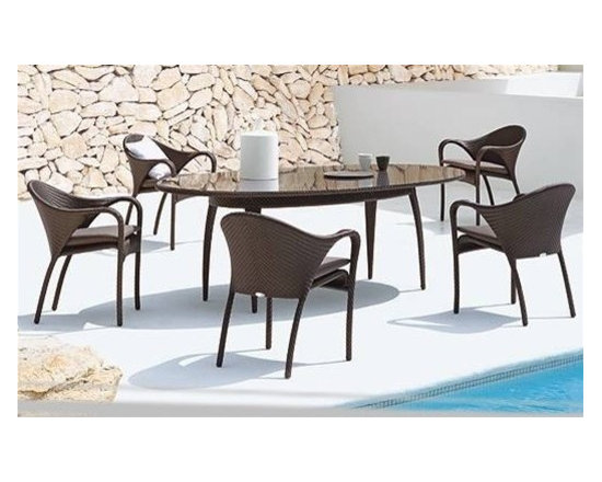 Areth 7-Pieced Patio Dining Set