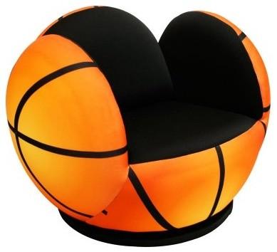 Newco Kids Basketball Swivel Chair modern-kids-chairs