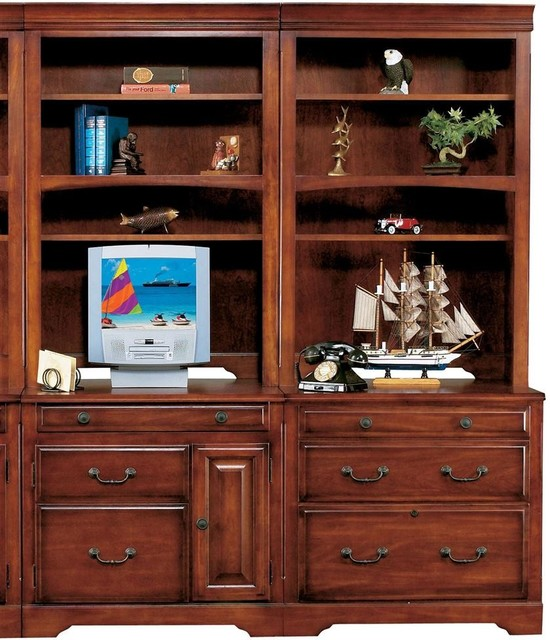 Country Cherry 32 in. Bookcase Set - Contemporary - Bookcases - by ...