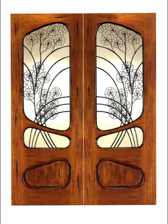 Art Nouveau Entry Doors Model # AN-2006 -