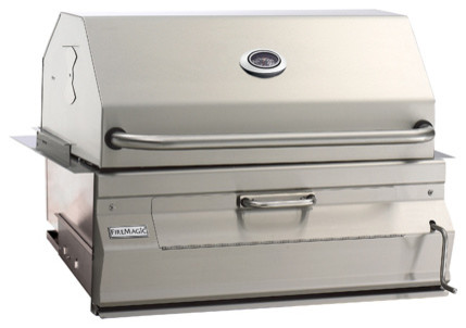 Legacy 12sc01ca Built In Charcoal Grill With Smoker Oven