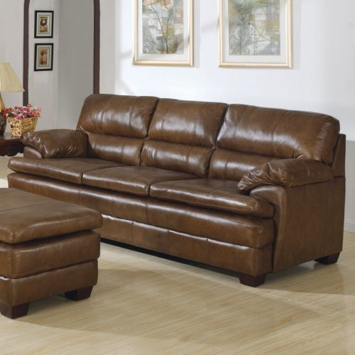Charles Schneider Prinston Sienna Leather Sofa
