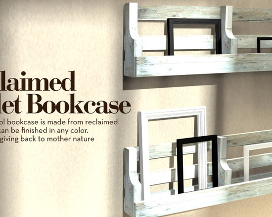 Reclaimed Pallet Bookcase -