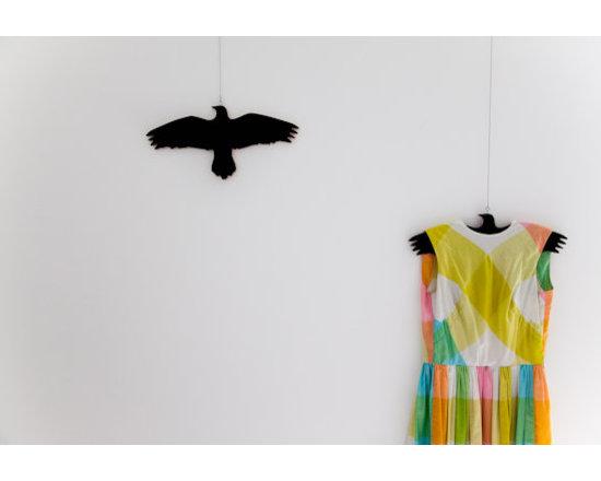 Krummi Bird Clothes Hanger -