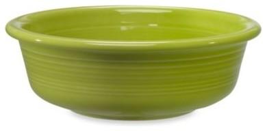 Fiesta 1-Quart Bowl in Lemongrass contemporary-bowls