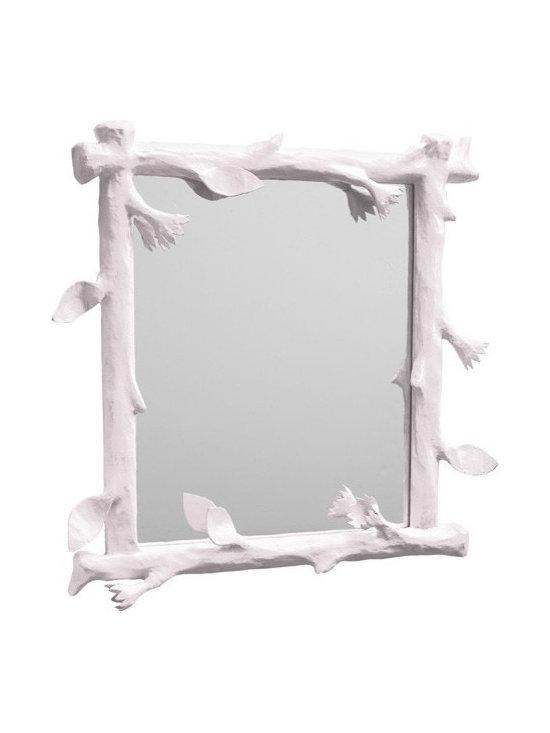 Faux Bois Mirror -