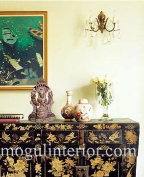 Patanjali Stone Sculpture asian-home-decor