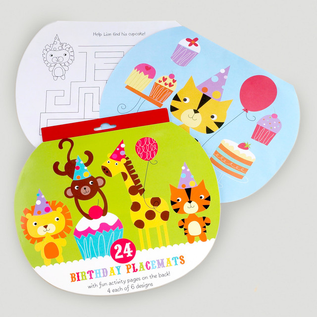 Birthday Placemats contemporary-placemats