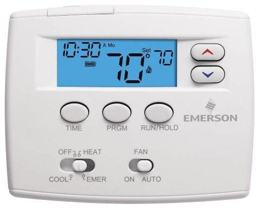 Programmable Digital Thermostat 1F82-0261 contemporary-thermostats