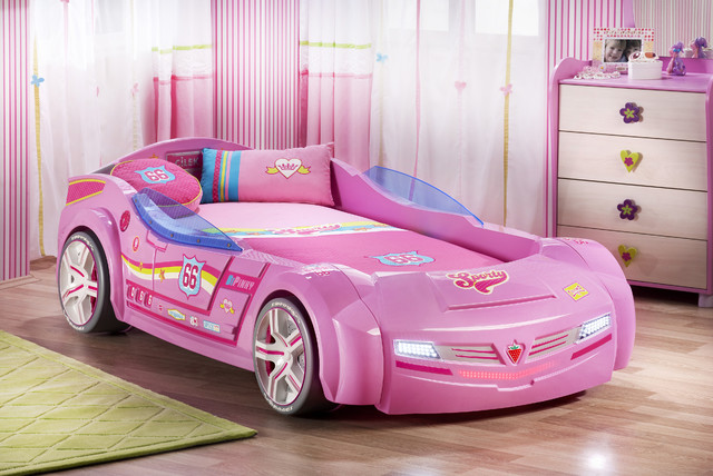 Kids Car Bedroom For Girls