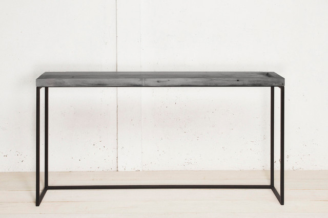 Hillary Console // Grey contemporary-buffets-and-sideboards
