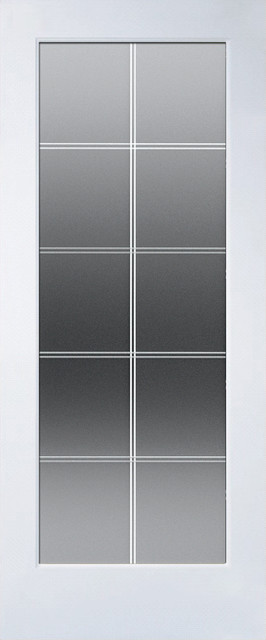 10 Lite V-Groove - Interior Doors - by American Building Supply