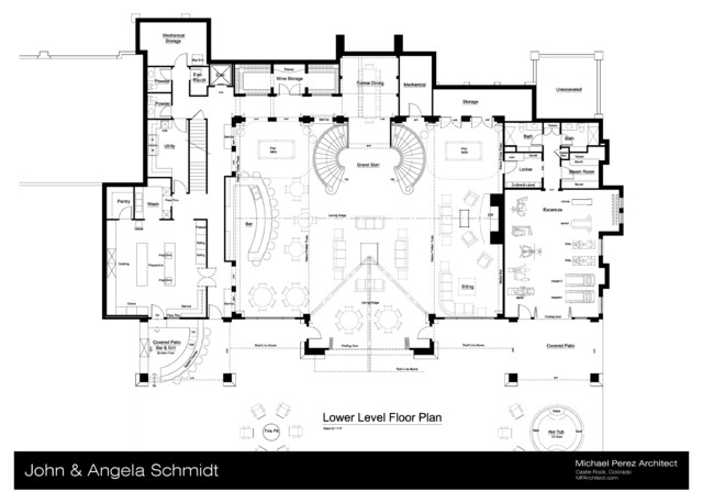 schmidt club house man cave schematic design two car man cave 43055pf media game home theater pdf