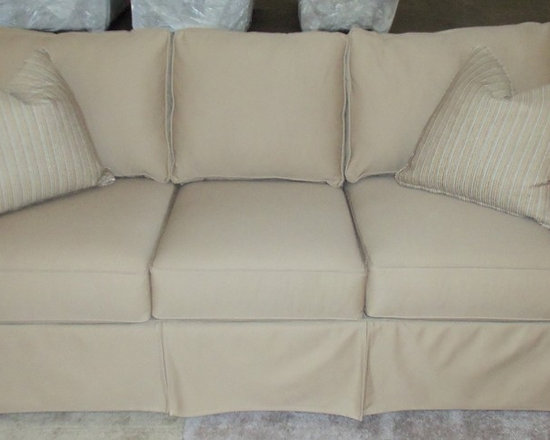 Customer Custom Orders - Rowe Nantucket Slipcover Sofa.  You Choose the Fabric.