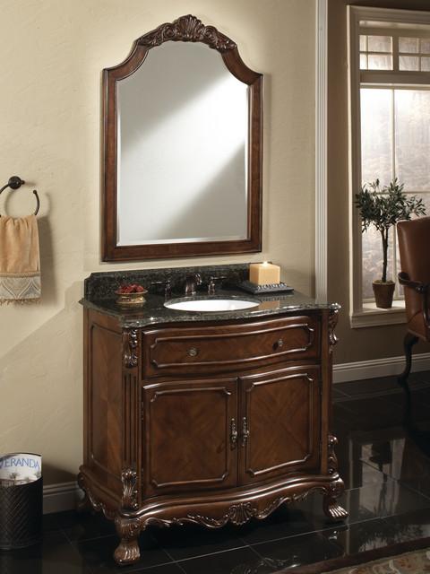"36"" Barrister Single Bath Vanity traditional-bathroom-vanities-and-sink-consoles"