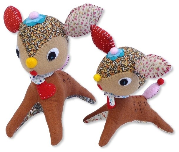 Handmade Critter Doll Deer - Modern - Baby And Toddler Toys - by My ...