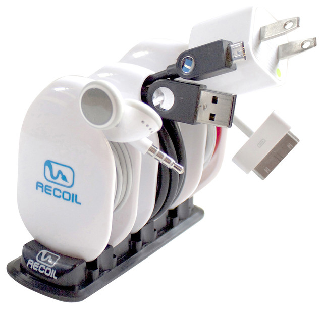 Recoil Automatic Cord Winders - MML Combo Pack modern-cable-management