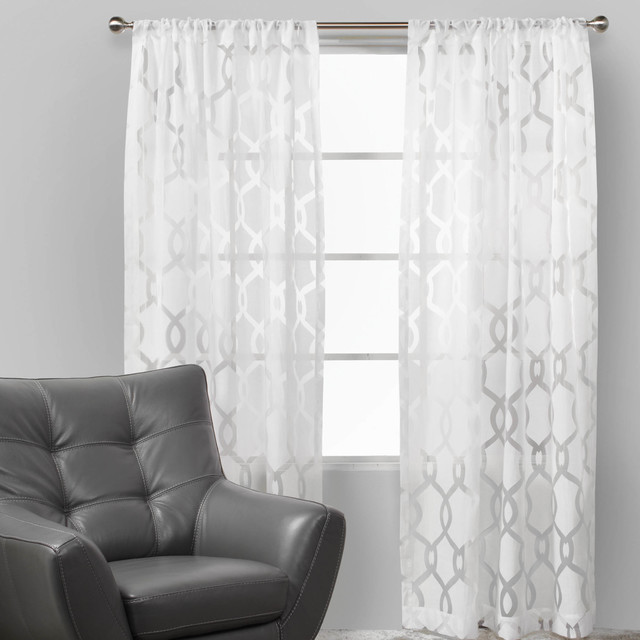 Image Result For Grey Patterned Curtains