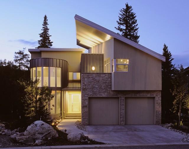 Frisco Residence contemporary-exterior