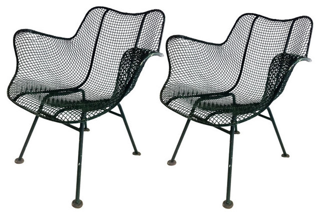 "Russell Woodard ""Sculptura"" A Chairs eclectic-armchairs-and-accent-chairs"