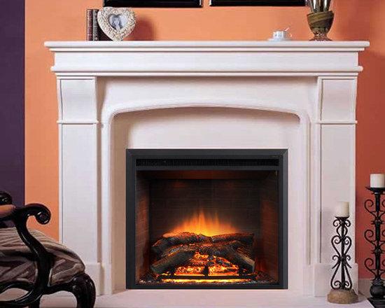 Marble Fireplace Mantels - Claridge -