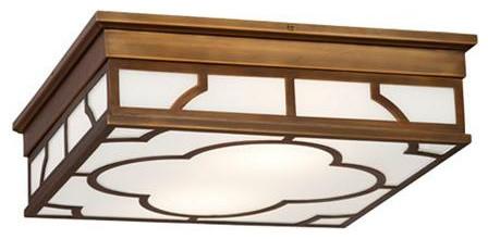 Quatrefoil Modern Ceiling Light contemporary-flush-mount-ceiling-lighting