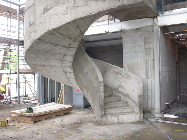 Concrete Stairs Modern London By Ej Brennan Formwork Ltd