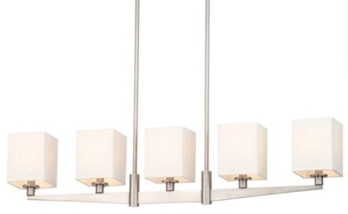 Fisher Island Linear Suspension contemporary-pendant-lighting