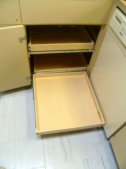 Blind Corner Solutions - Cabinet And Drawer Organizers - other metro - by ShelfGenie of Seattle